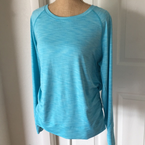 Calvin Klein Tops - Calvin Klein Large long sleeve Blue Top
